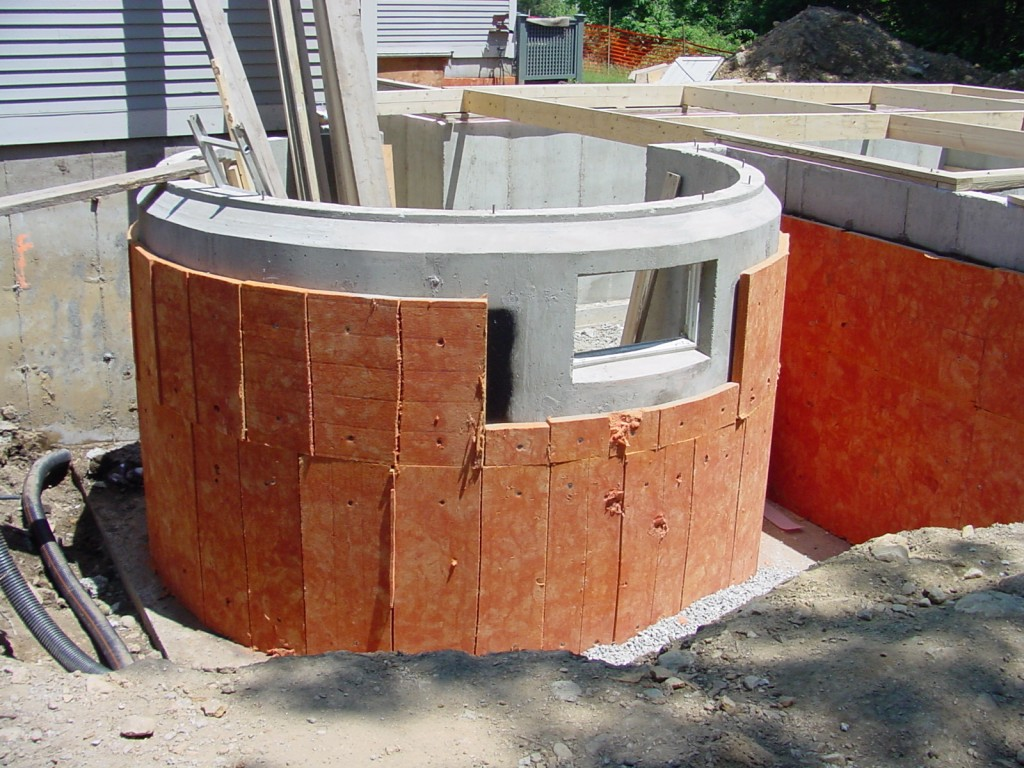 Completed Foundation with Insulation