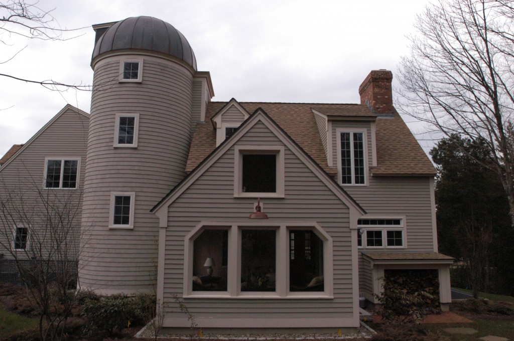 Completed Exterior WIth Porch and 2 Story Addition